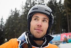Radoslav Yankov (BUL) during Final Run of Men's Parallel Giant Slalom at FIS Snowboard World Cup Rogla 2016, on January 23, 2016 in Course Jasa, Rogla, Slovenia. Photo by Ziga Zupan / Sportida