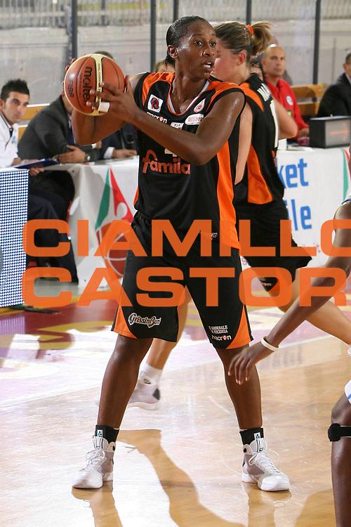 DESCRIZIONE : Roma Lega A1 Femminile 2008-09 Prima giornata Campionato GMA Phonica Pozzuoli Famila Wuber Schio<br /> GIOCATORE : Nicole Antibe<br /> SQUADRA : Famila Wuber Schio<br /> EVENTO : Campionato Lega A1 Femminile 2008-2009 <br /> GARA : GMA Phonica Pozzuoli Famila Wuber Schio<br /> DATA : 11/10/2008 <br /> CATEGORIA : <br /> SPORT : Pallacanestro <br /> AUTORE : Agenzia Ciamillo-Castoria/E.Castoria