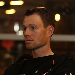 04-05-2016: Wielrennen: Giro persconferentie: Apeldoorn <br /> APELDOORN (NED) wielrennen <br /> Giant-Alpecin persconferentie voorafgaand aan de start van de Giro start in Apeldoorn. Tom Stamsnijder klaar voor zijn zesde Partenza