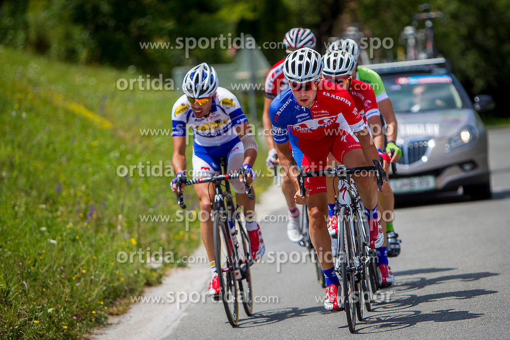 Primoz Roglic of KK Adria Mobil during Stage 4 from Skofja Loka to Novo Mesto (153 km) of cycling race 21st Tour of Slovenia, on June 22, 2014 in Slovenia. Photo By Urban Urbanc / Sportida