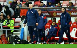 Sunderland manager Simon Grayson looks on - Mandatory by-line: Robbie Stephenson/JMP - 28/10/2017 - FOOTBALL - Stadium of Light - Sunderland, England - Sunderland v Bristol City - Sky Bet Championship