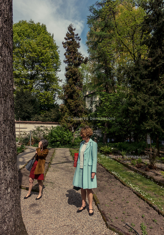 Milan, design week 2017,  Brera botanical Garden at Brera District