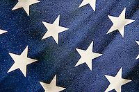 Detail of American flag