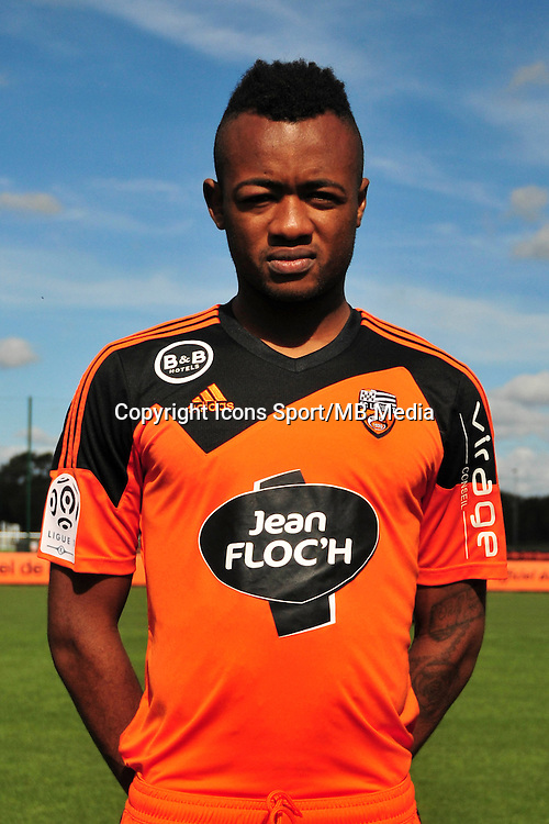 Jordan Ayew - 25.09.2014 - Photo officielle Lorient - Ligue 1 2014/2015<br /> Photo : Philippe Le Brech / Icon Sport