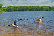 Fishing and kayaking on Lac Seul <br />