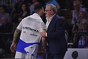 Brian Sacchetti, Romeo Meo Sacchetti<br /> Vanoli Cremona - Germani Leonessa Basket Brescia<br /> LegaBasket Serie A 2017/2018<br /> Cremona, 28/04/2018<br /> Foto M.Ceretti / Ciamillo-Castoria