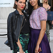Fashionista attend Fashion Scout - SS19 - London Fashion Week - Day 3, London, UK. 16 September 2018.