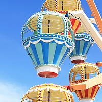 Balloon Race ferris wheel, Mariner's Pier, Morey's Piers, Wildwood, New Jersey, USA
