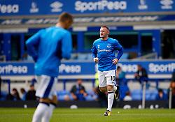 Wayne Rooney of Everton warms up with his new team mates - Mandatory by-line: Matt McNulty/JMP - 12/08/2017 - FOOTBALL - Goodison Park - Liverpool, England - Everton v Stoke City - Premier League
