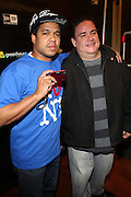 1 December 2010-New York, NY-  Celebrity Photographer Johnny Nunez and his brother, Eddie Nunez at The New Era Launch of his Limited Edition 59Fitfty Cap and Launch of his Eye Can Foundation held at The New Era Flagship Store on December 1, 2010 in New York City. Photo Credit: Terrence Jennings