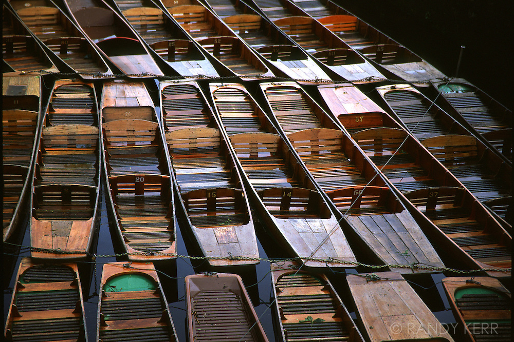Canal boats at Oxford