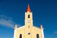 The parish church of St Zeno in the village of Brtonigla, near Buje, northwest Istria, Croatia (November 2016) © Rudolf Abraham