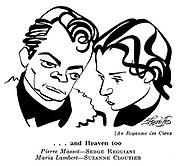 Au Royaume des Cieux : Serge Reggiani and Suzanne Cloutier