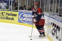 11 November 2006: Chris Mann.&#xD;The Elmira Jackals met the Bloomington PrairieThunder at the U.S. Cellular Coliseum in Bloomington Illinois.<br />