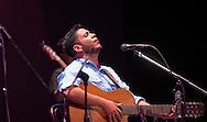 Carlos Pacheco voz líder de La Cayetana cantan Saturday July 24,2015 en el Teatro Nacional en la Cuarta Edicion de los Conciertos Estudio y Lucha.  Photo: Edgar ROMERO/Imagenes Libress