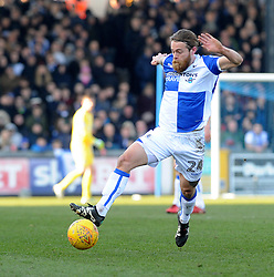 Stuart Sinclair of Bristol Rovers - Mandatory by-line: Neil Brookman/JMP - 24/02/2018 - FOOTBALL - Memorial Stadium - Bristol, England - Bristol Rovers v Scunthorpe United - Sky Bet League One