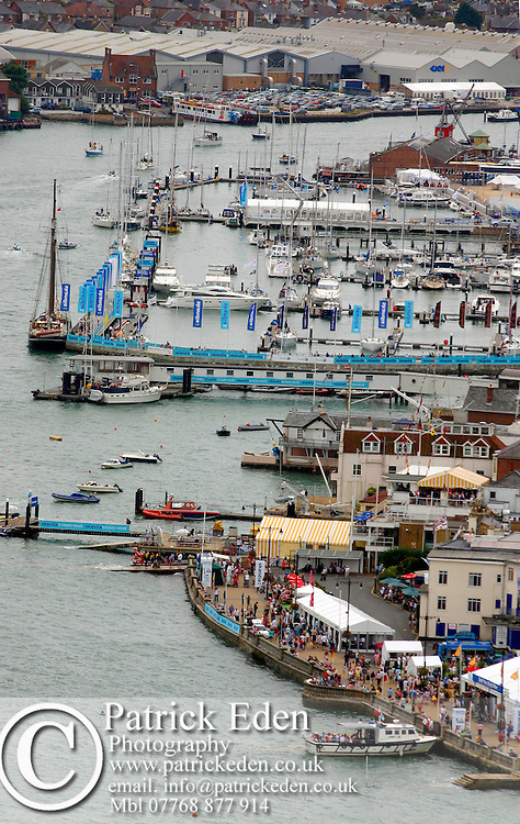 Cowes Yacht Haven Aerial Photographs of the Isle of Wight by photographer Patrick Eden photography photograph canvas canvases