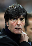 JOACHIM LOW.GERMANY V IVORY COAST.GERMANY V IVORY COAST.VELTINS ARENA, GELSENKIRCHEN, GERMANY.18 November 2009.GAA3885..  .WARNING! This Photograph May Only Be Used For Newspaper And/Or Magazine Editorial Purposes..May Not Be Used For, Internet/Online Usage Nor For Publications Involving 1 player, 1 Club Or 1 Competition,.Without Written Authorisation From Football DataCo Ltd..For Any Queries, Please Contact Football DataCo Ltd on +44 (0) 207 864 9121