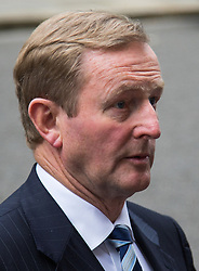 Downing Street, London July 26th 2016. Irish Taoiseach Enda Kenny is the first foreign leader to arrive in Downing Street since Theresa May became Prime Minister for talks centred around economic and border issues arising from Brexit. <br /> ©Paul Davey<br /> FOR LICENCING CONTACT: Paul Davey +44 (0) 7966 016 296 paul@pauldaveycreative.co.uk