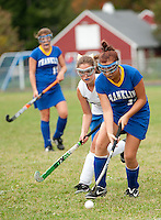 Varsity field hockey Gilford versus Franklin September 28, 2010
