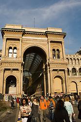 Galleria Vittorio Emanuele II (il salotto di Milano), Milan, Italy / Italia December 6, 2007.