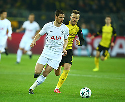 November 21, 2017 - Dortmund, Germany - Tottenham Hotspur's Jan Vertonghen. during UEFA Champion  League Group H Borussia Dortmund between Tottenham Hotspur played at Westfalenstadion, Dortmund, Germany 21 Nov 2017  (Credit Image: © Kieran Galvin/NurPhoto via ZUMA Press)