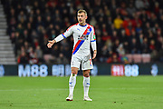 Max Meyer (7) of Crystal Palace during the Premier League match between Bournemouth and Crystal Palace at the Vitality Stadium, Bournemouth, England on 1 October 2018.