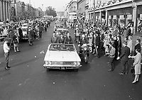 Apollo XIII Astronauts Motorcade in O'Connell Street, Dublin, 13/10/1970 (Part of the Independent Newspapers Ireland/NLI Collection).