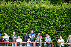 Brechin City's hedge. Brechin City 0 v 4 Inverness Caledonian Thistle, Scottish Championship game played 26/8/2017 at Brechin City's home ground Glebe Park.