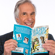 Portrait of actor and author Henry Winkler at his home in Brentwood, California for Costco.