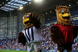 WEST BROMWICH, ENGLAND - Monday, August 10, 2015: West Bromwich Albion's owl mascot during the Premier League match at the Hawthorns. (Pic by David Rawcliffe/Propaganda)