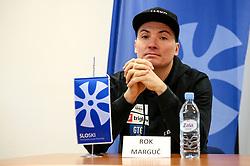 ROK MARGUC at press conference of Slovenian Snowboard Team on January 4, 2019 in SZS, Ljubljana, Slovenia. Photo by Matic Klansek Velej / Sportida