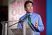 Andy Burnham  MP, Labours health spokesperson. This week as the governments controversial Health and Social Care Bill enters its final stages in the House of Lords, patients, health workers and campaigners are to come together on Wednesday for a TUC-organised Save Our NHS rally in Westminster. On Wednesday (7 March 2012) over 2,000 nurses, midwives, doctors, physiotherapists, managers, paramedics, radiographers, cleaners, porters and other employees from across the health service will join with patients to fill Central Hall Westminster. Once inside they will listen to speeches from politicians, fellow health workers, union leaders and health service users.