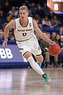 NCAA Basketball - Notre Dame Fighting Irish vs NC State Wolfpack - South Bend, In