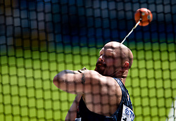 A. G. Kruger of USA competes in the men's Hammer Throw qualifying event of the 2009 IAAF Athletics World Championships on August 15, 2009 in Berlin, Germany. (Photo by Vid Ponikvar / Sportida)