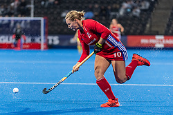 Sarah Robertson of Great Britain Women during the 2019 Women's FIH Pro League match at Lee Valley Hockey Centre, Stratford<br /> Picture by Simon Parker/Focus Images Ltd <br /> 03/05/2019