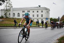 Elena Pirrone (ITA) with two laps to go at Ladies Tour of Norway 2018 Stage 2, a 127.7 km road race from Fredrikstad to Sarpsborg, Norway on August 18, 2018. Photo by Sean Robinson/velofocus.com