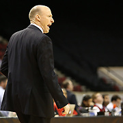 Head Coach John Groce of the Illinois Fighting Illini is seen during the NIT First Round game at Agganis Arena on March 19, 2014 in Boston, Massachusetts . (Photo by Elan Kawesch)