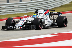October 20, 2017 - Austin, Texas, U.S - Williams driver Felipe Massa (19) of Brazil in action before the Formula 1 United States Grand Prix race at the Circuit of the Americas race track in Austin,Texas. (Credit Image: © Dan Wozniak via ZUMA Wire)