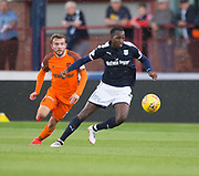 July 30th 2017, Dundee, Scotland; Betfred Cup football, group stages, Dundee versus Dundee United; Dundee&rsquo;s Glen Kamara and Dundee United's Paul McMullan<br /> <br />  - Picture by David Young - www.davidyounghoto@gmail.com - email: davidyoungphoto@gmail.com