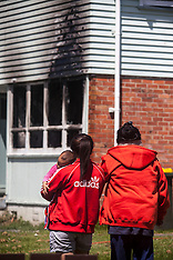 Auckland-Fire damages Otara house