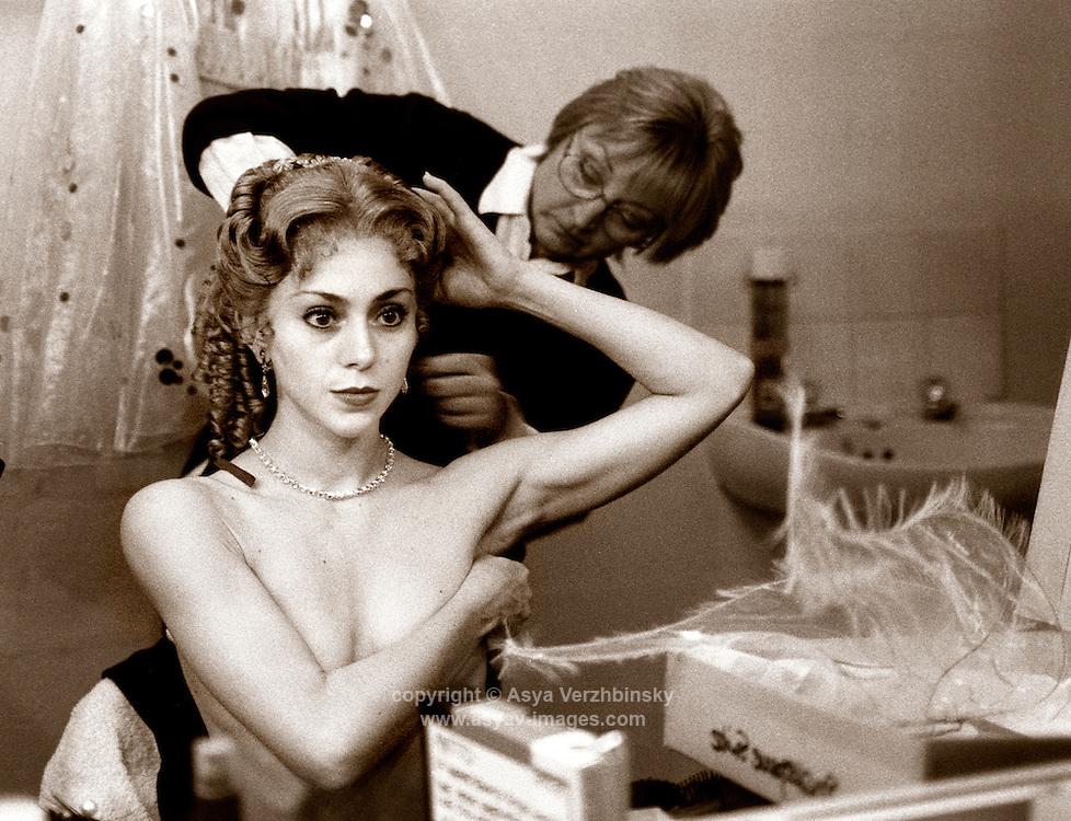 """Ambra Vallo preparing for the premiere of David Bintley's """"Shakespeare Suite"""""""