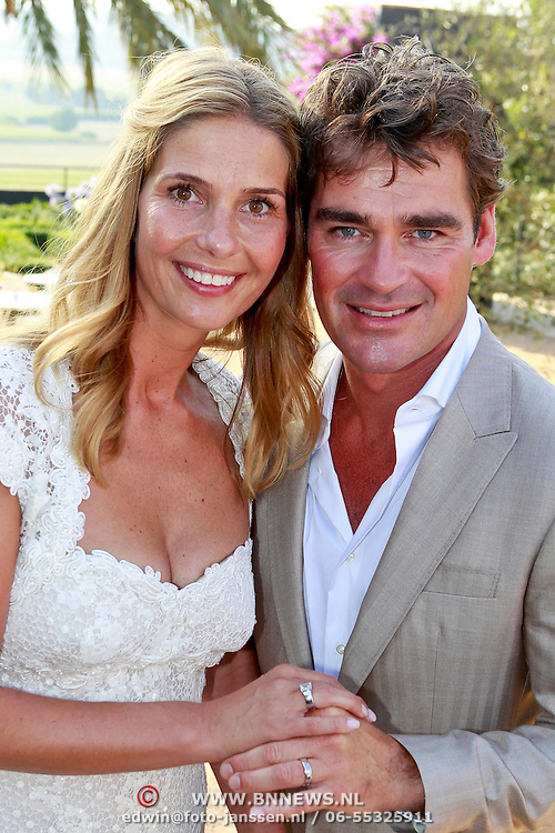 SPA/La Bisbal/20110711 - Huwelijk Jeroen van der Boom en Dani de Wit,