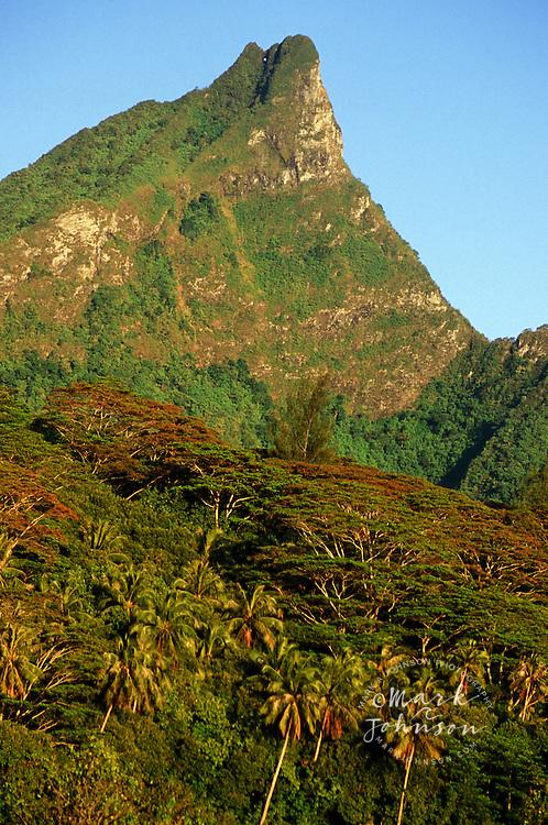 Mt. Mouaputa, Moorea, French Polynesia