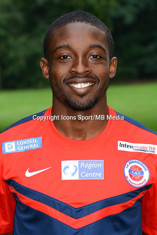 Terence MAKENGO - 19.10.2014 - Portrait Officiel - Chateauroux - Ligue 2 -<br /> Photo : Reignoux / Chateauroux / Icon Sport