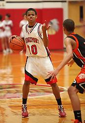 January 17, 2011: HS Boys Varsity Basketball Bridgeport vs. Elkins. (Photo by: Ben Queen)