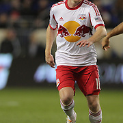 Dax McCarty, New York Red Bulls, in action during the New York Red Bulls V Houston Dynamo, Major League Soccer regular season match at Red Bull Arena, Harrison, New Jersey. USA. 23rd April 2014. Photo Tim Clayton