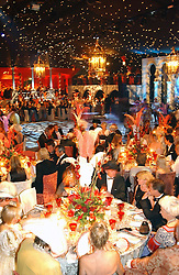 Views of the ball at the 2004 Goodwood Revival ball this year theme was a Venetian Masked Ball, held at Goodwood Motor Racing circuit, West Sussex on 4t September 2004.