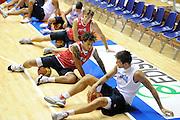 Trieste, 08/08/2012<br /> Baslet, Nazionale Italiana Maschile Senior<br /> Allenamento<br /> Nella foto: Daniel Hackett<br /> Foto Ciamillo