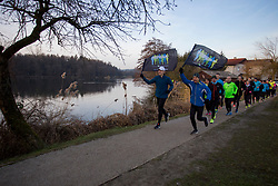 2. skupinski tek pod okriljem Volkswagen Ljubljanskega maratona, on January 27, 2018 in Ljubljana, Slovenia. Photo by Urban Urbanc / Sportida